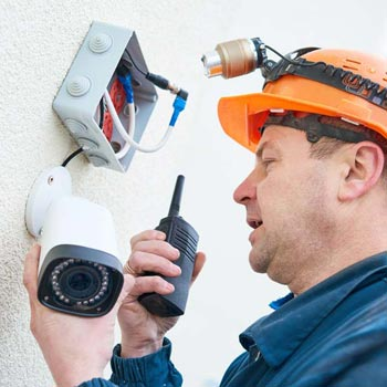 Bridgend County Borough business cctv system repairs